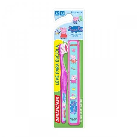 Escova Dental Infantil Dentalclean Pepa Macia