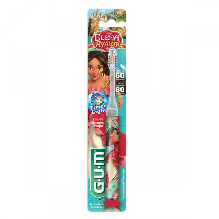 Escova Dental Infantil Gum Disney Elena Light
