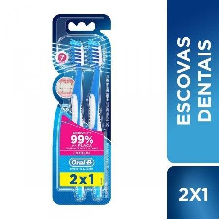 Escova Dental Oral-B Pro-Saúde 7 Benefícios Macia