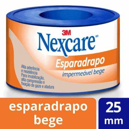 Esparadrapo Impermeável Nexcare Bege 25mmx3m