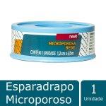 Esparadrapo Microporoso Bege 1... Esparadrapo Microporoso Bege 1,2 cm X 4,5m