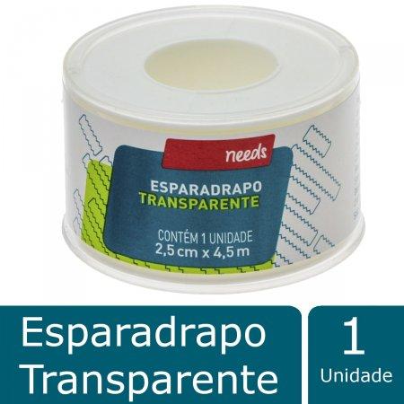 Esparadrapo Needs Transparente 2,5cm X 4,5m | Drogaraia.com Foto 2