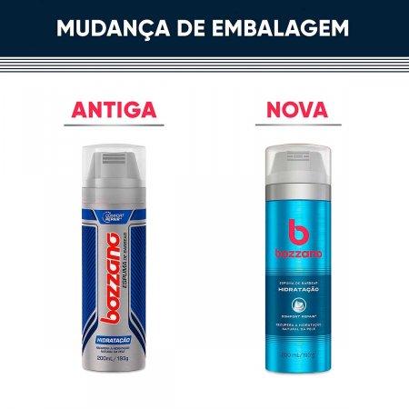 Espuma de Barbear Bozzano Hidratação com 200ml