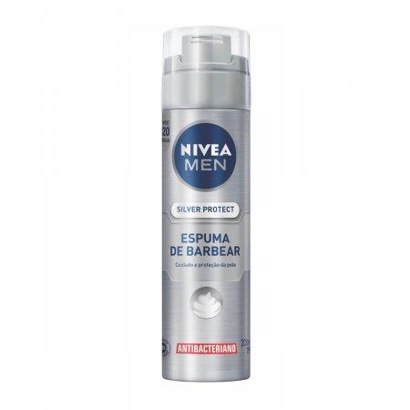Espuma de Barbear Nivea Men Silver Protect