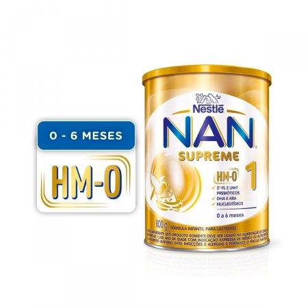 Fórmula Infantil NAN Supreme 1 HM-O com 800g