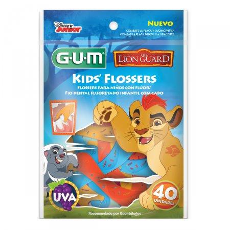 Fio Dental Infantil Gum Flosser Disney A Guarda do Leão