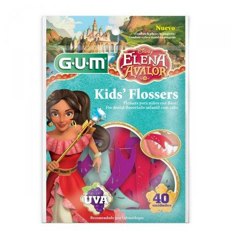 Fio Dental Infantil Gum Flosser Disney Elena Avalor