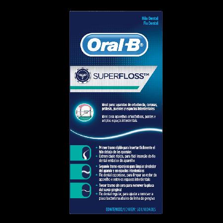 Fio Dental Oral B Super Floss
