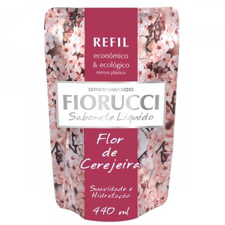 Sabonete Líquido FIorucci Flor de Cerejaira Refil