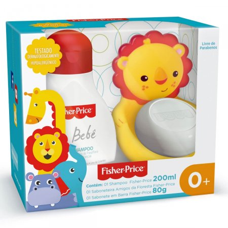 Kit Amigos da Floresta Fisher Price