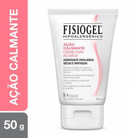 Creme Hidratante para as Mãos Fisiogel Ação Calmante com 50g