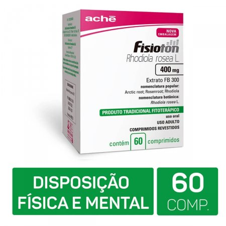 Fisioton 400mg Aché 60 Comprimidos | Drogaraia.com Foto 2
