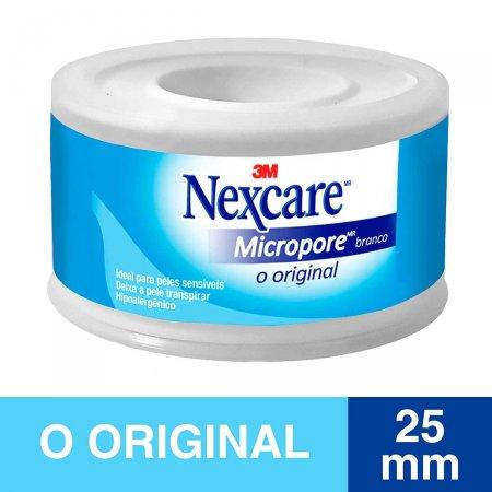 Fita Micropore Nexcare Branca 25mmx4,5m 1 Rolo