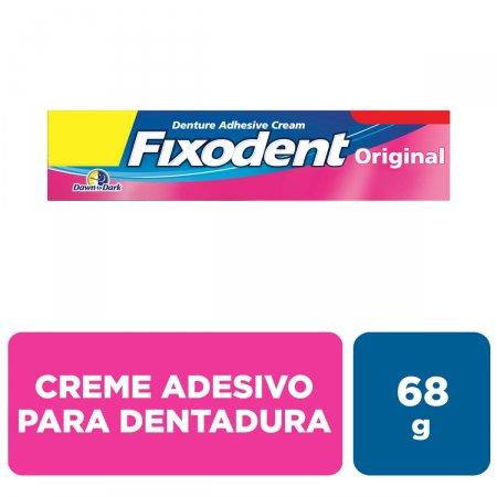 Creme Fixador de Dentadura Fixodent Original com 68g
