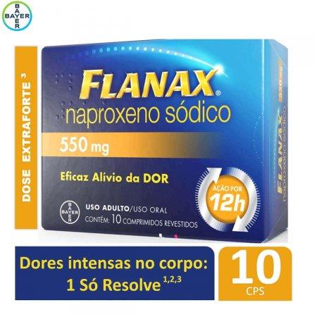 Flanax 550mg com 10 comprimidos