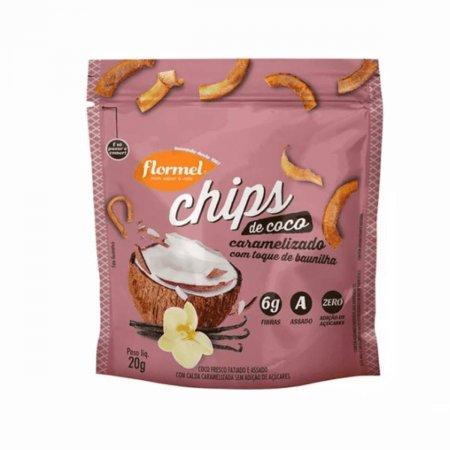 Chips de Coco Caramelizado Flormel