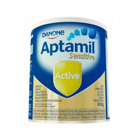 Fórmula Infantil Aptamil Sensitive Active com 800g