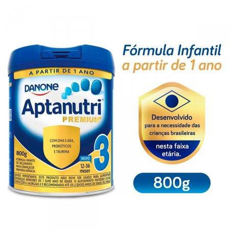 Fórmula Infantil Aptanutri Premium 3 com 800g