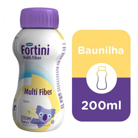 Fortini Multi Fiber Sabor Baunilha 200ml