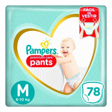 Fralda Pampers Premium Care Pants Tamanho M