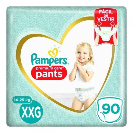 Fralda Pampers Premium Care Pants XXG com 90 Unidades | Foto 1