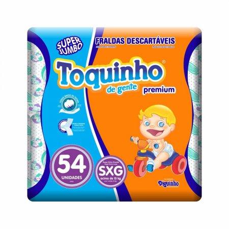 Fralda Toquinho de Gente Premium Tamanho SXG