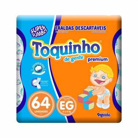 Fralda Toquinho de Gente Premium Tamanho XG