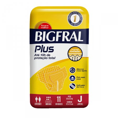 Fralda Bigfral Plus Juvenil