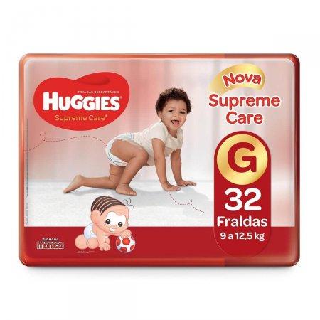 Fralda Huggies Supreme Care Tamanho G