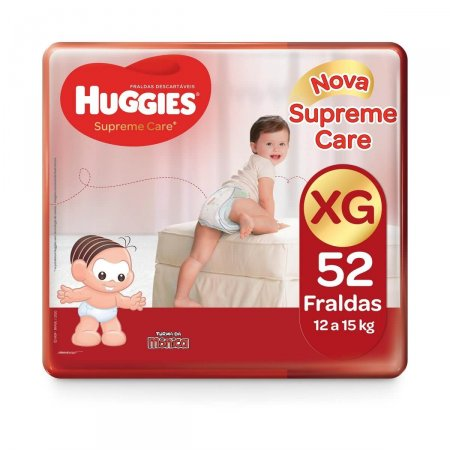 Fralda Huggies Supreme Care Tamanho XG