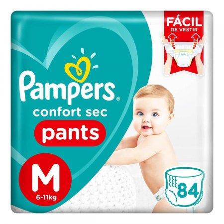 Fralda Pampers Confort Sec Pants Tamanho M