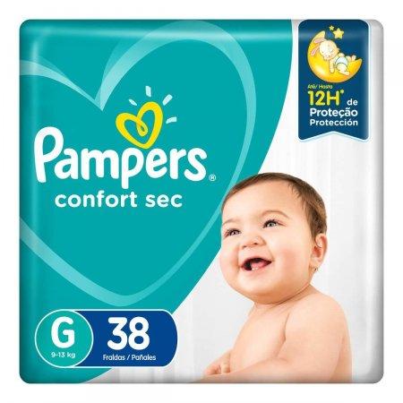 Fralda Pampers Confort Sec Tamanho G