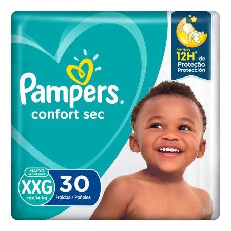 Fralda Pampers Confort Sec XXG com 30 unidades