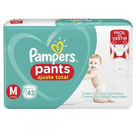 Fralda Pampers Pants Ajuste Total Tamanho M