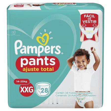 Fralda Pampers Pants Ajuste Total XXG com 28 Unidades