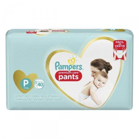 Fralda Pampers Premium Care Pants P com 40 Unidades