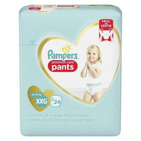 Fralda Pampers Premium Care Pants Tamanho XXG