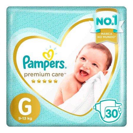 Fraldas Pampers Premium Care Tamanho G