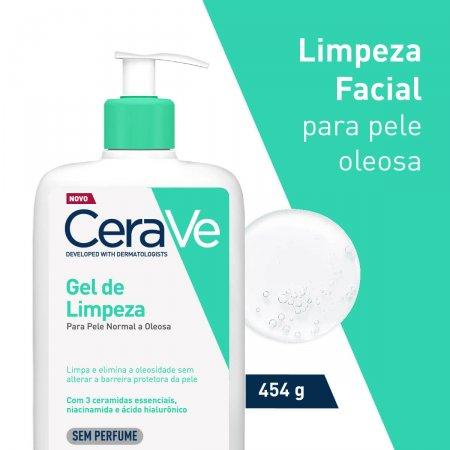 Gel de Limpeza Facial CeraVe Pele Oleosa