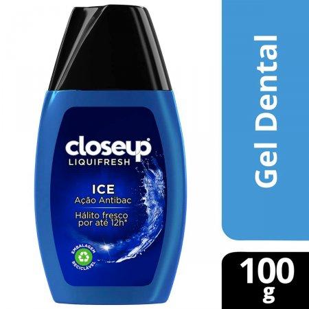 Pasta de Dente em Gel Closeup Liquifresh Ice com 100g
