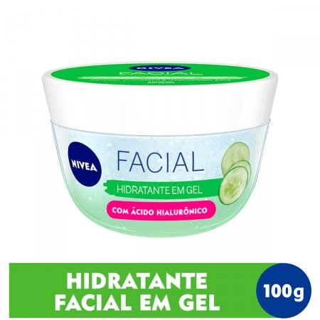 Hidratante em Gel Nivea Facial 100ml  
