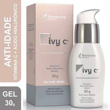 Ivy C Gel Facial Anti-Idade Mantecorp com 30g