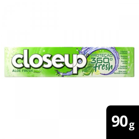 Gel Dental Closeup Proteção 360° Fresh Aloe Fresh