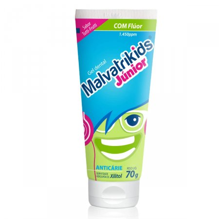 Gel Dental Infantil Malvatrikids Júnior