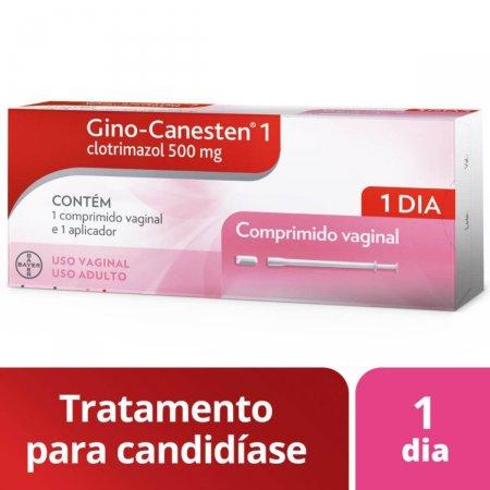 Gino-Canesten 1 com 1 comprimido vaginal + 1 aplicador