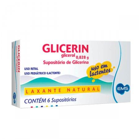 Supositório de Glicerina Glicerin Uso Infantil