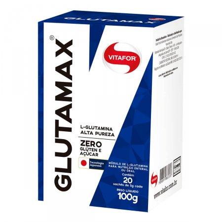 Glutamax Vitafor 100g com 20 sachês