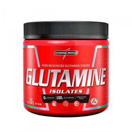 Suplemento Alimentar Glutamina Natural Integral Medica Glutamine Isolates com 150g