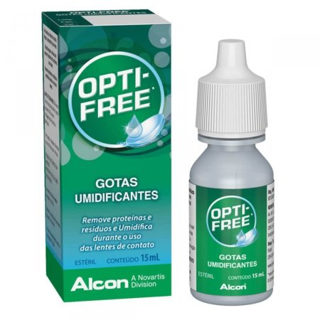 Gotas Umidificantes Opti Free