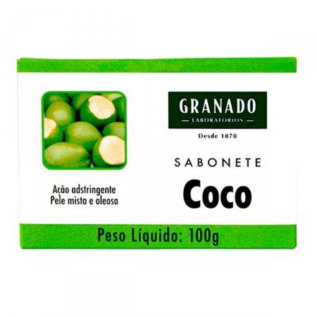 Sabonete em Barra Granado Coco Pele Mista a Oleosa com 100g